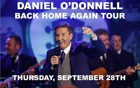 Daniel O'Donnell Back Home Again Tour