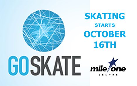 Ice Skating opens October 16th!