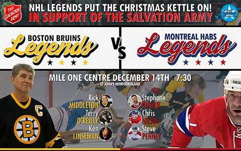 NHL Alumni Game: HABS VS. BOSTON