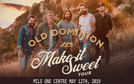 OLD DOMINION MAKE IT SWEET TOUR