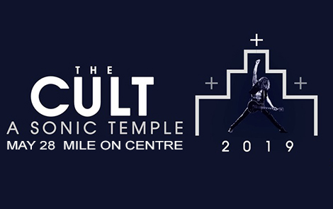 THE CULT – A SONIC TEMPLE