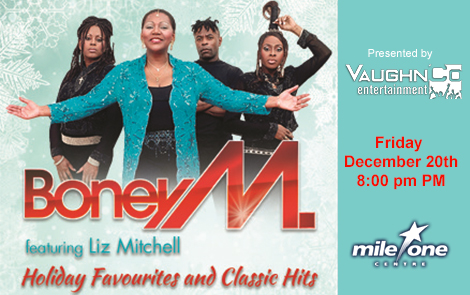 Boney M Holiday Favourites and Classic Hits Tour