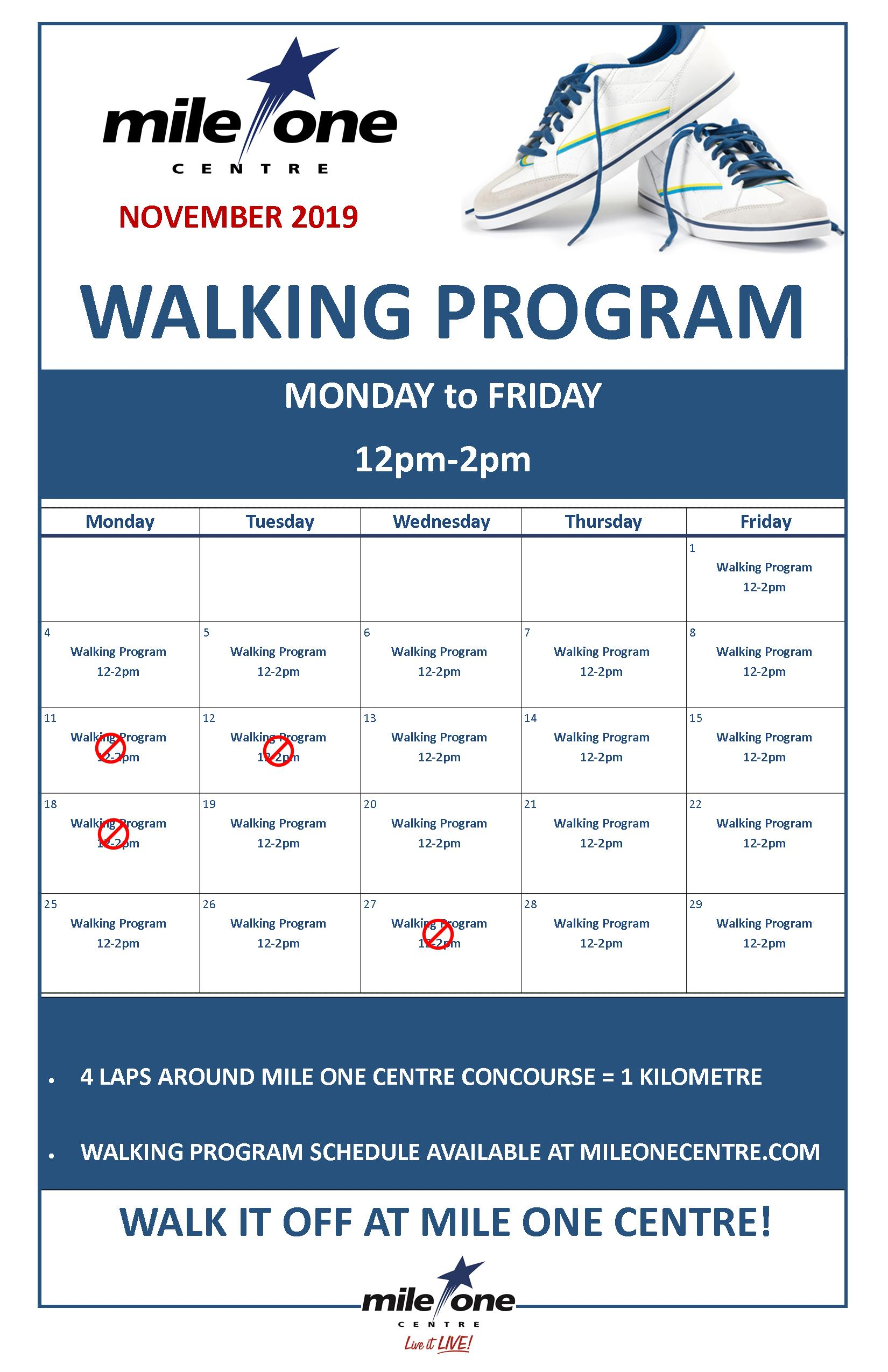 Walking Program
